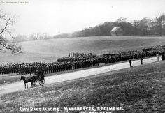 Manchester Regiment Inspection in Heaton Park