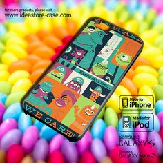 Monster Inc Quotes Case for iPhone 4/4S/5/5S/5C by hamamerajarela, $13.99
