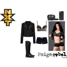 """WWE NXT Paige (Rebel #6)"" by kristaleedistylish on Polyvore"