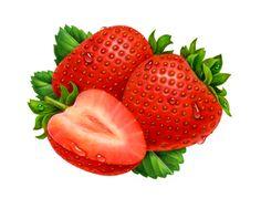 strawberry illustration - Google zoeken