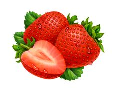 strawberry illustration - Google zoeken