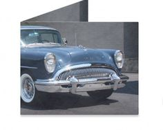 Dynomighty Artist Collective: PAPA'S '55 BUICK by Michael Ledwitz This is your father's Buick!!! Beautiful 1955