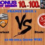 Prediksi Bola Lorient vs Stade Reims 21-09-2014 FRANCE LIGUE 1