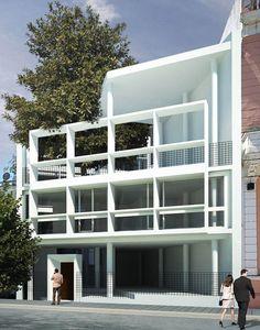 Casa Curutchet, Le Corbusier 1949-1953. La Plata, Buenos Aires.