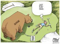 PLAYING DEAD | Oct/19/15 WORLD Magazine Editorial Cartoons