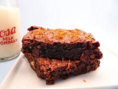 Orange Chocolate Brownies from motherfudger