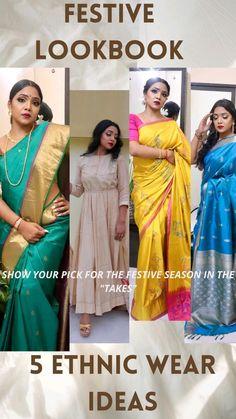Festival Hair, Festival Makeup, Diwali Outfits, Bollywood Saree, Pink Saree, Saree Wedding, Scarf Styles, Indian Fashion, Ethnic