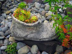 Lucinha's Home & Garden: Decoração de Jardim