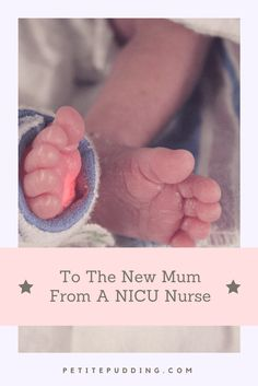 Hello There, come on in. I know it's bright in here and it's loud. I am sure it's totally overwhelming for you. I am your NICU nurse here to support you and your premature baby