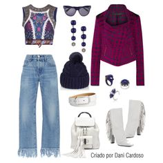 Jeans com Franjas - Look casual
