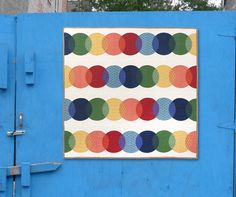 Quilts by Bill Kerr and Weeks Ringle - two influential Modern Quilters.