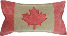 Add some national pride to your home with the Canada Flag toss cushion #urbanbarn #canada