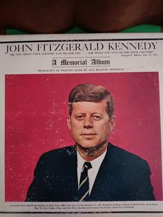 John Fitzgerald Kennedy Memorial Album