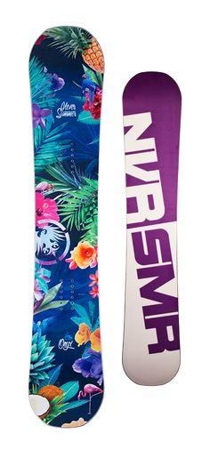 Never Summer Onyx Snowboard - Women's Snowboards - Women's Snowboarding - Winter 2015/2016 - Christy Sports
