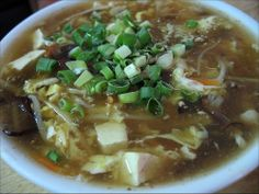 Hot and Sour Vegetable Soup for Colds