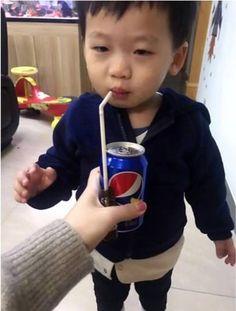 It's not medicine, it's Pepsi!