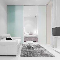 Diseño interior de mini-apartamento en Madrid