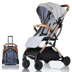 Universal Pram Organiser Buggy Storage Bag for Pushchair Baby Stroller Organiser with External Tissue Box Adjustable Straps with Quick Release Buckles,Beige