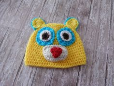 Special Agent Oso Inspired Hat Made to Order by MustLoveHats, $25.00