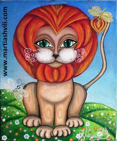 LION | Work of Irina (Iryina) Martiashvili, wife of Zurab Martiashvili (b1982 Tbilisi, GEORGIA) http://www.martiashvili.com/#!iryina-martiashvili-/c9ol