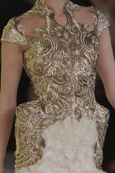 Alexander McQueen Spring/Summer 2012 Detail