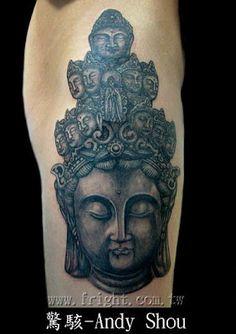 #Buddha #tattoo like stone sculpture
