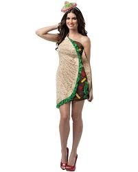 Get into the holiday spirit with the Taco Halloween Costume. This fun and festive design features a detailed taco dress and headpiece. Dress yourself up in a spicy outfit that everyone will love and win this year's costume contest. Taco Costume, Mexican Costume, Costume Dress, Food Costumes, Adult Costumes, Costumes For Women, Party Costumes, Snow White Halloween Costume, Sexy Halloween Costumes