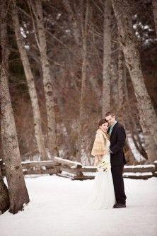 Winter Wedding Photos