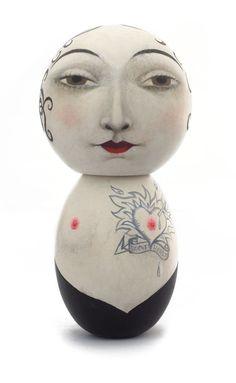 Gosh I just love this! Ana Juan - Artwork - Broken Heart - Nucleus | Art Gallery and Store