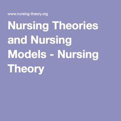 Nursing Theories and Nursing Models - Nursing Theory