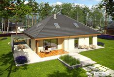 Astrid III G2 - projekt domu - Archipelag House Layout Plans, House Layouts, House Plans, House Construction Plan, Facade House, Home Fashion, Smart Home, My House, New Homes