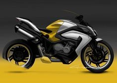 Auto Design, Automotive Design, Concept Motorcycles, Cars And Motorcycles, Bike Sketch, Motorbike Design, Motorized Bicycle, Animal Sketches, Transportation Design
