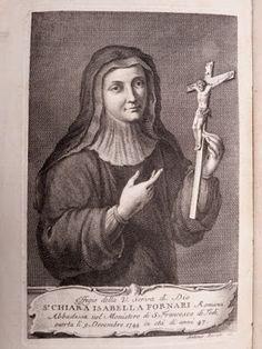 Santos, Beatos, Veneráveis e Servos de Deus: Venerável Clara Isabel Fornari, Monja Clarissa, Mí...