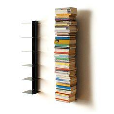 Haseform Bücherturm für 1m Bücher anthrazit
