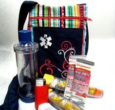Personalized Owl Epi Pen Medicine Pack Epi Pen Case