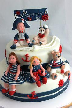 vioricas cakes: Torturi botez, mot, turta