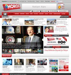 Horoz Medya - Medya portalı web sayfası. http://www.horozmedya.com