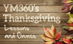 Free Thanksgiving Lessons and Games | youthministry360