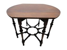 Late 1920s Antique Drop Leaf Gate Leg Table It Was My