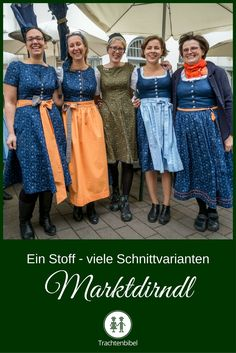 Marktdirndl für den Kutschkermarkt - ein Stoff, mehrere Schnitte - ein vielfältiges Kleidungsstück für vielfältige Frauen. Every Woman, Looking For Women, Looks Great, Personal Style, Fabric, Diy, Inspiration, Vintage, Fashion