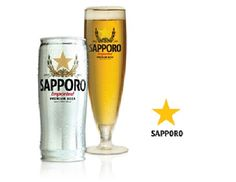 Sapporo. Japanese beer