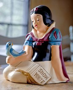Ultra RARE Vintage Snow White Cookie Jar California Originals