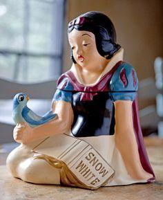 Ultra RARE Vintage Snow White Cookie Jar California Originals