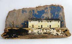 sixty one A: driftwood art