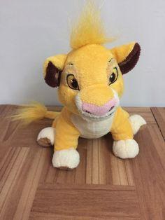 "Disney The Lion King 8"" SIMBA Plush Stuffed Toy    eBay"