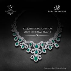 Exquisite diamond for your etheral beauty .#sunnydiamonds