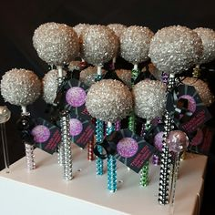 Disco Ball Cake Pops                                                       …