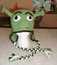Cool hat for kids..Inspired by Shrek