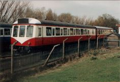 DMU Chasewater Railway's old station.