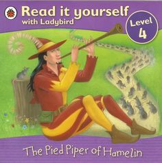 Ladybird Read it Yourself - Level 4 - Pied Piper of Hamelin - P/Back - S/Hand